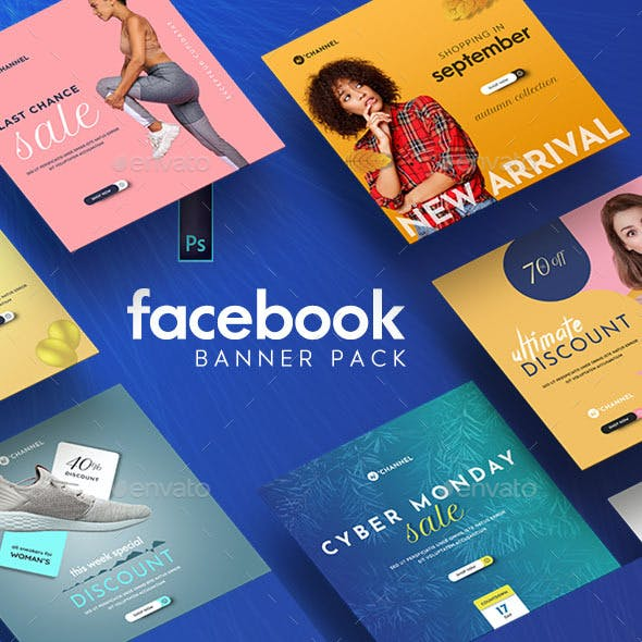 Fashion Facebook Banner Pack