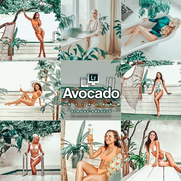 Avocado Lightroom Presets (Mobile & Desktop)