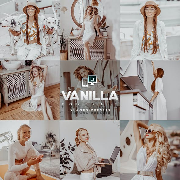 Vanilla Portrait Presets (Mobile & Desktop)