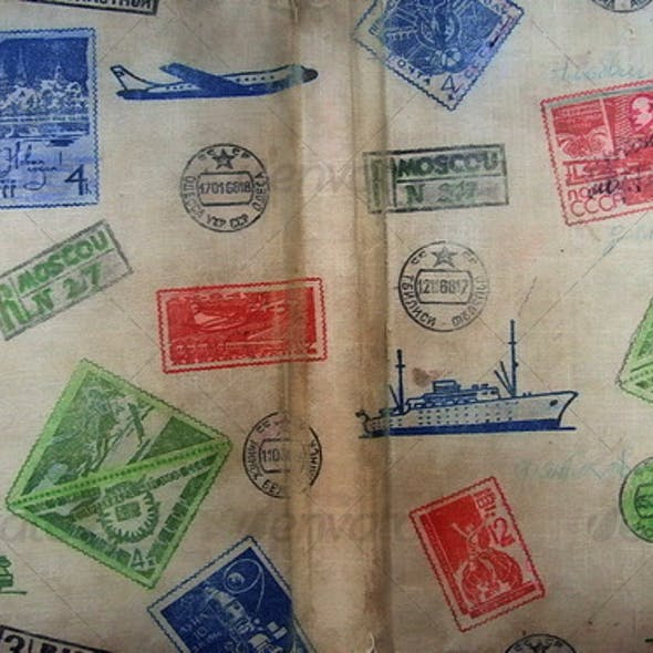 Retro Stamp Texture