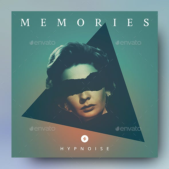 Memories – Music Album Cover Artwork / Youtube Video Thumbnail Template