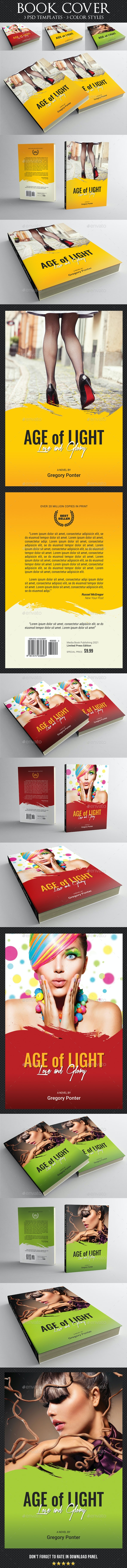 Book Cover Template 73 - Miscellaneous Print Templates
