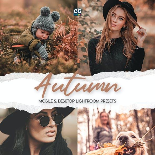 Autumn - 15 Premium Lightroom Presets