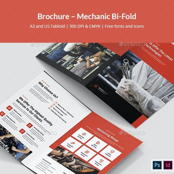 Brochure – Mechanic Bi-Fold