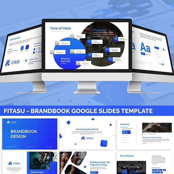 Fitasu - Brandbook Google Slides Template