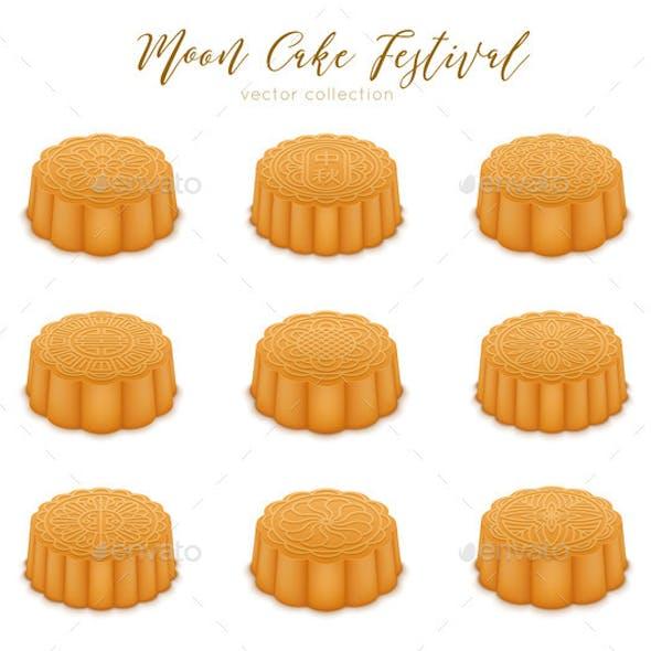 Mooncakes Set for the Mid-Autumn Festival