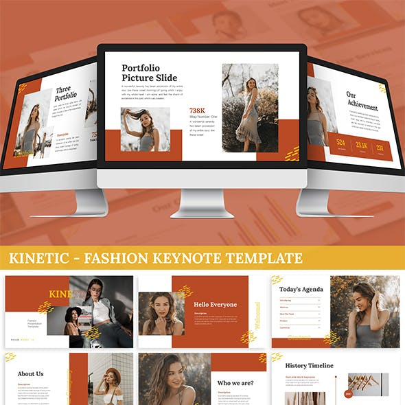 Kinetic - Fashion Keynote Template