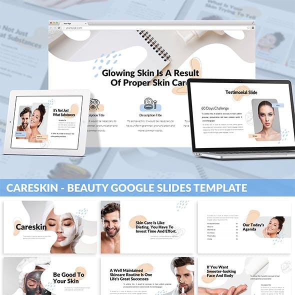 CareSkin - Beauty Google Slides Template