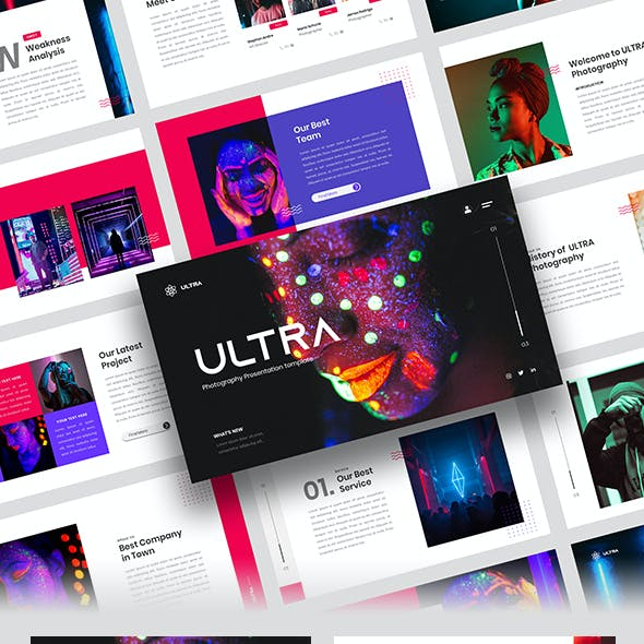 Ultra – Photography Google Slides Template