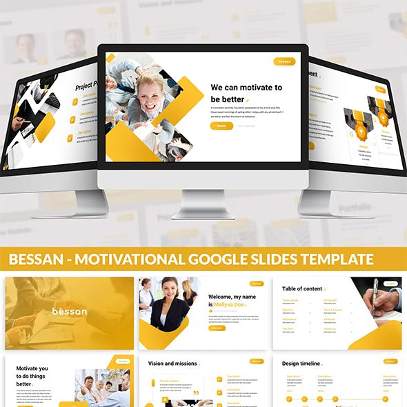 Bessan - Motivational Google Slides Template
