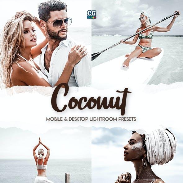 Coconut - 5 Premium Lightroom Presets