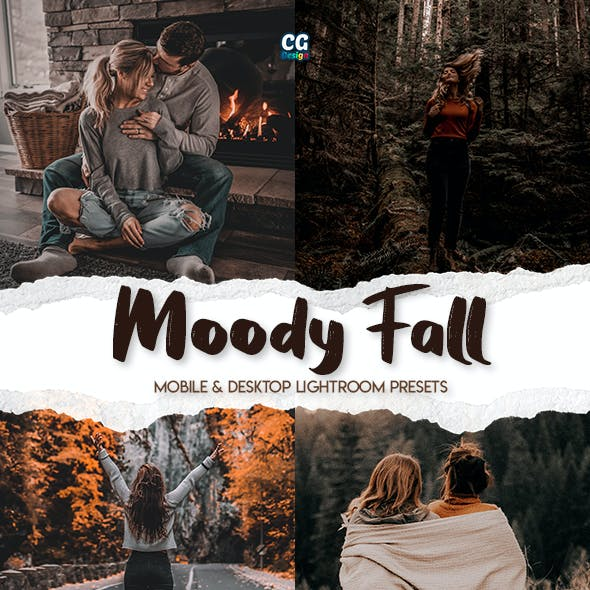 Moody Fall - 15 Premium Lightroom Presets