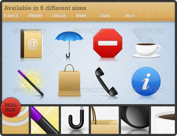 High Quality Premium Icons - Set 4 - Web Icons