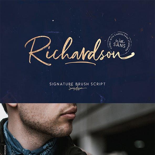 Richardson - Signature Brush