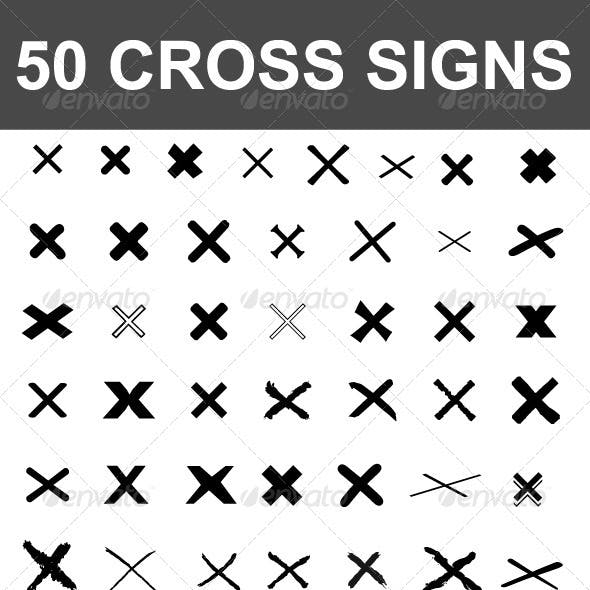 50 Cross Signs