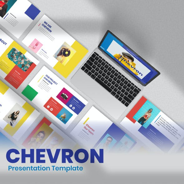 Chevron Keynote Template