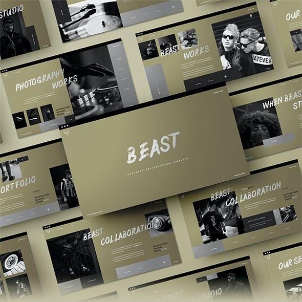 Beast - Business Google Slides Template
