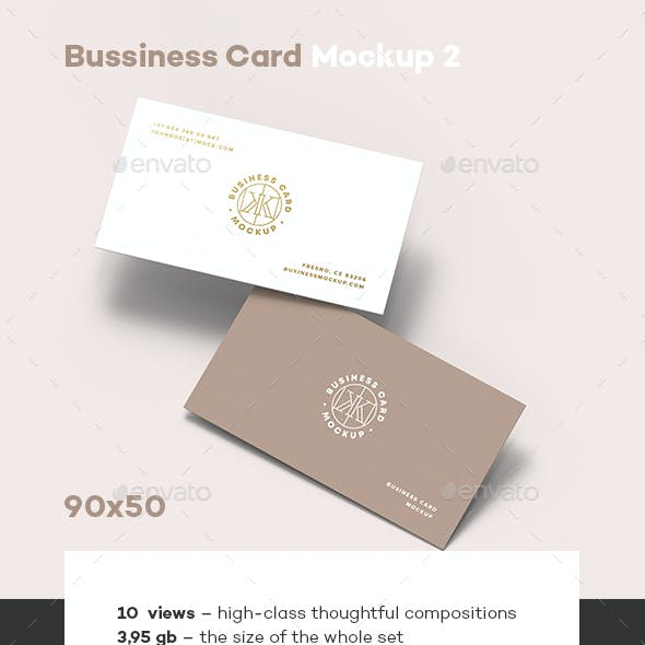 Business Card Mock-up 2_90x50