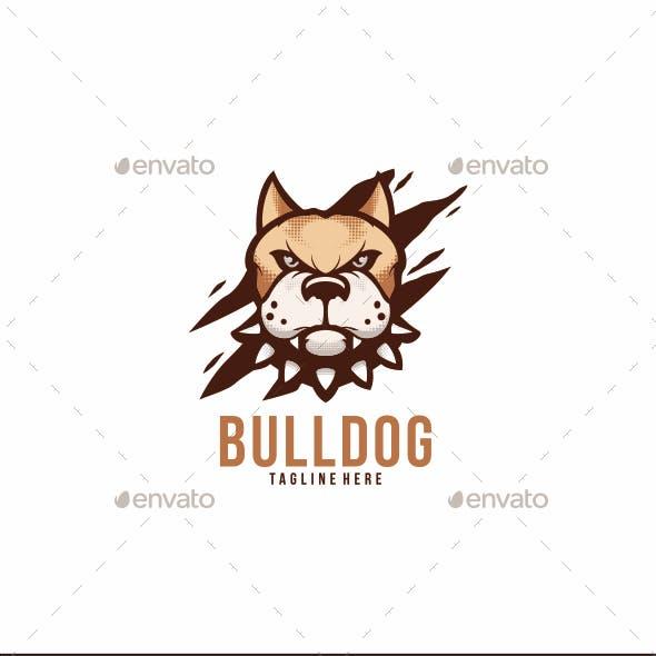 Bulldog Logo Mascot