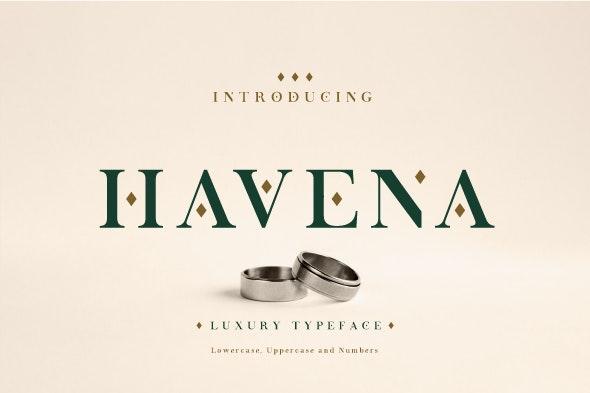 Havena - Serif Fonts