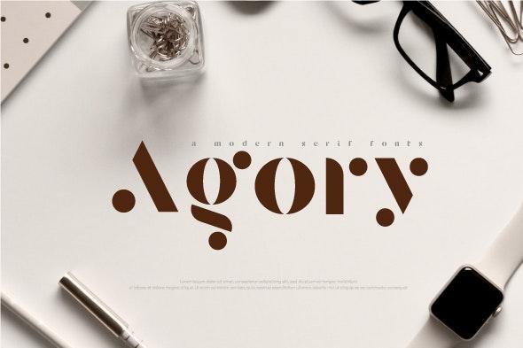 Agory - Serif Fonts
