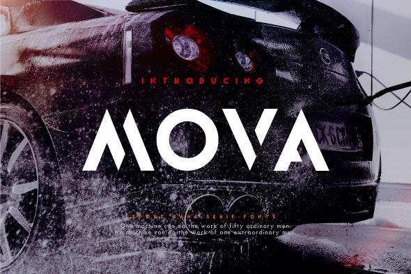 Mova - Sans-Serif Fonts