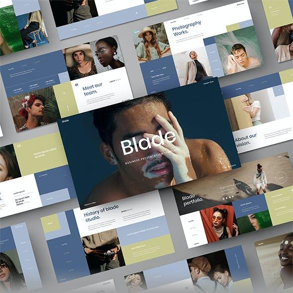 Blade - Business Google Slides Template