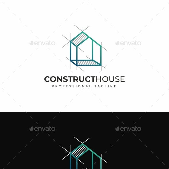 Construct House Logo