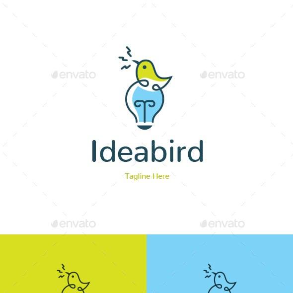 Idea Bird Logo Template