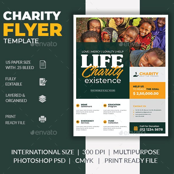 Fundraiser Flyer Templates From