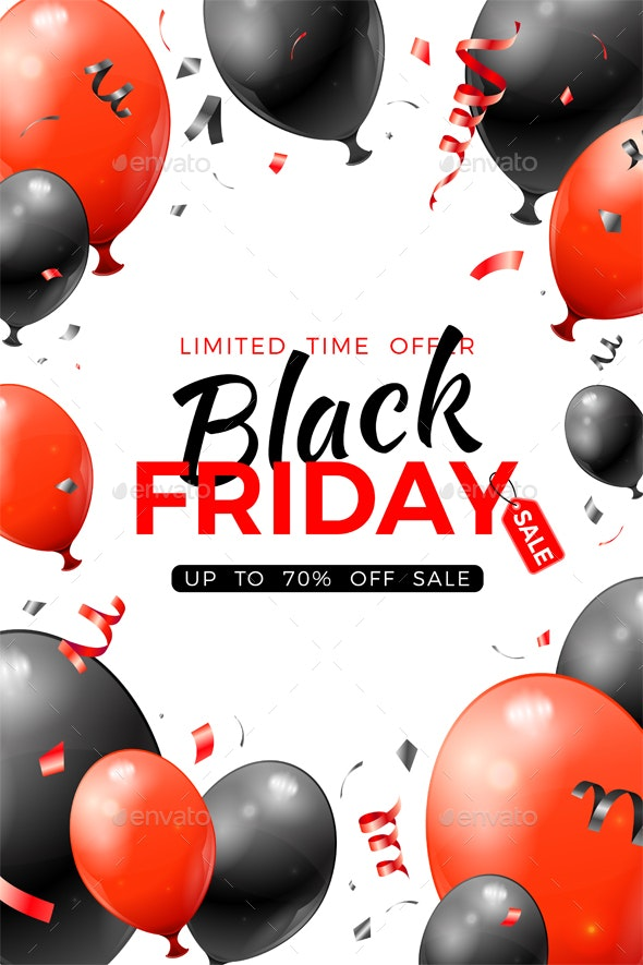 Black Friday Sale Poster - Retail Commercial / Shopping