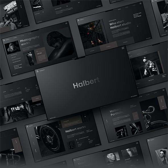 Halbert - Business Google Slides Template