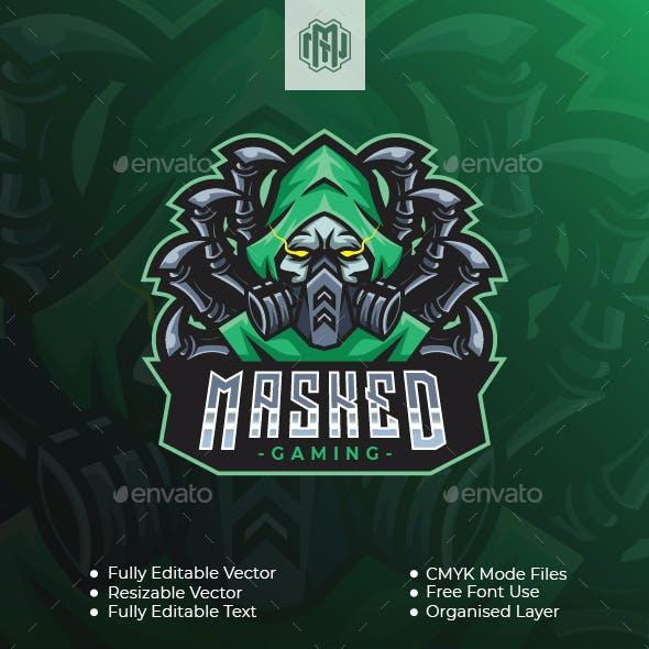 Masked Gaming Esport Logo