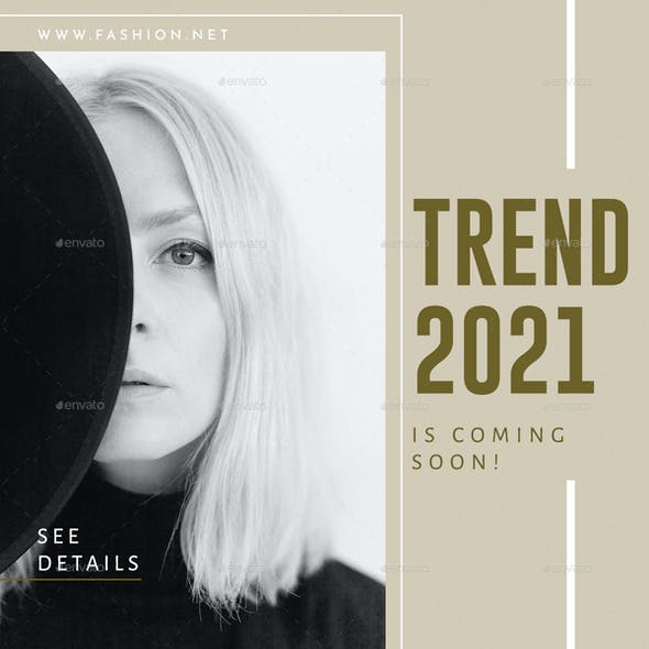 Lithium - Fashion Trend Instagram Post Template