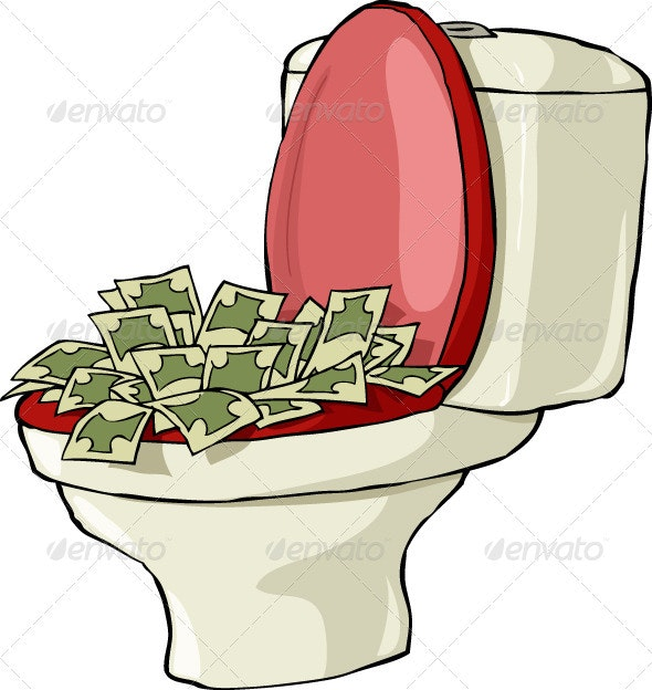 Toilet Bowl - Man-made Objects Objects