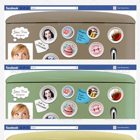 FB Timeline Cover - Fridge