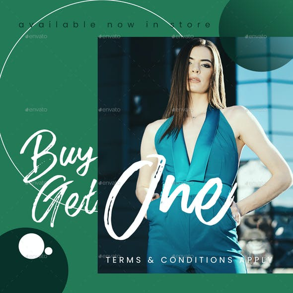 Lakedown - Fashion Style Instagram Post Template