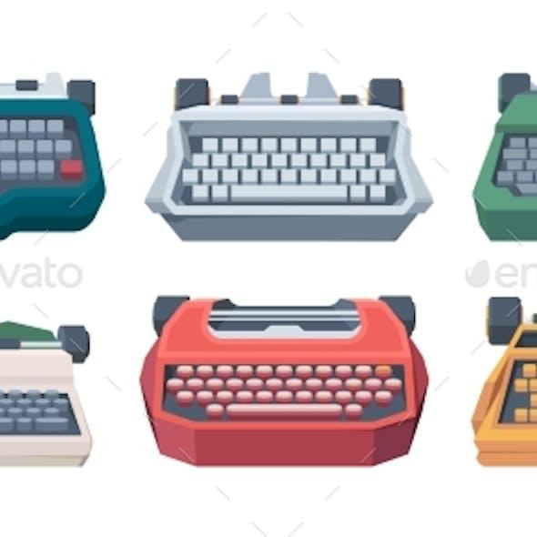 Retro Typewriting