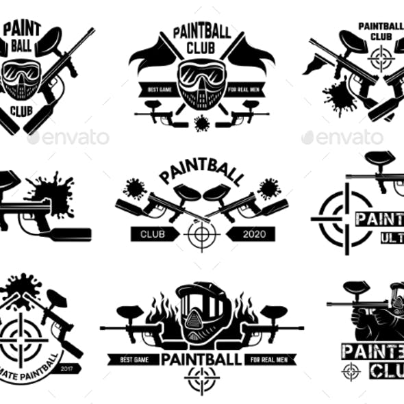 Paintball Badges