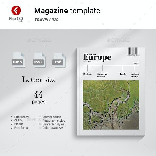 Europe Travelling Magazine