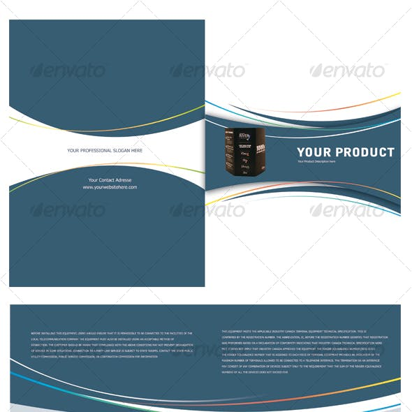 Product Lunch Brochure