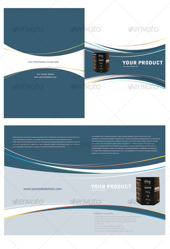 Product Lunch Brochure  - Corporate Brochures