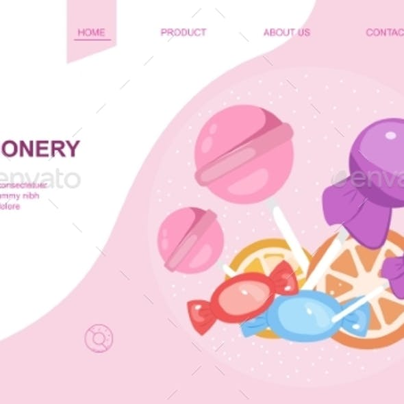 Web Page Design Template for