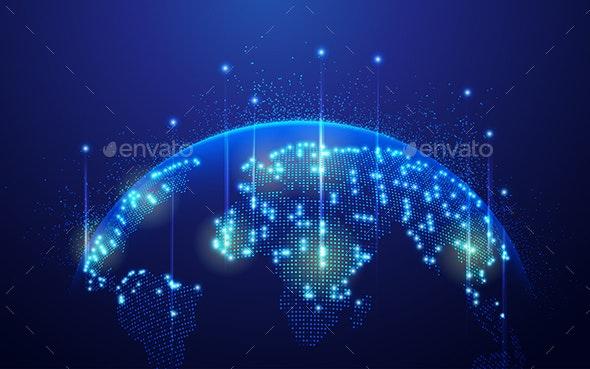 Global Network - Communications Technology