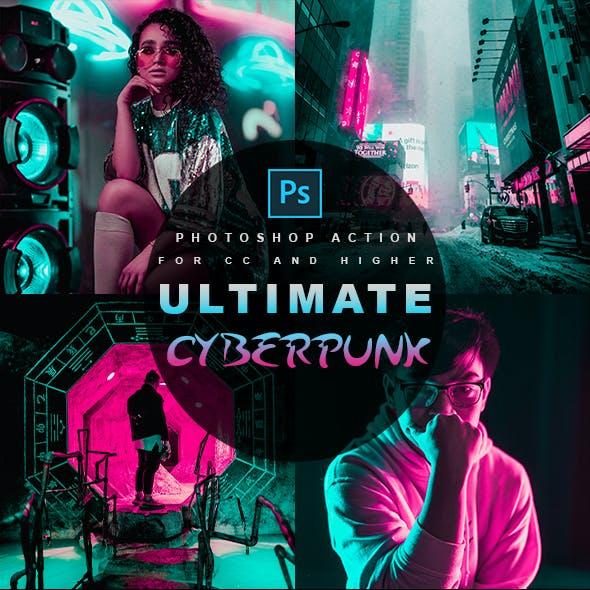 Ultimate Cyberpunk - Photoshop Action