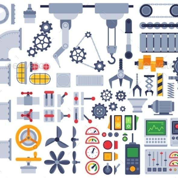 Flat Machinery Auto Construction