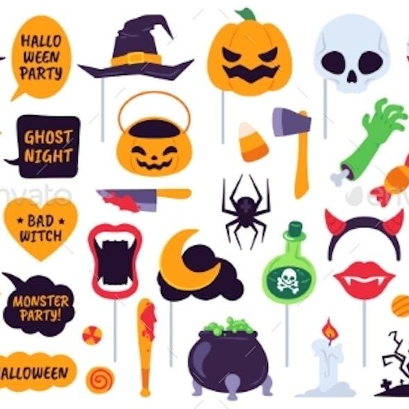 Halloween Props Holiday Accessories Speech