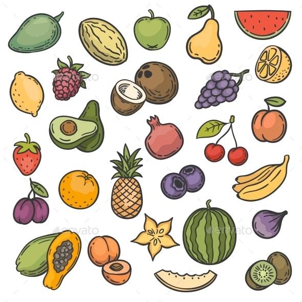 Fruits - Miscellaneous Vectors