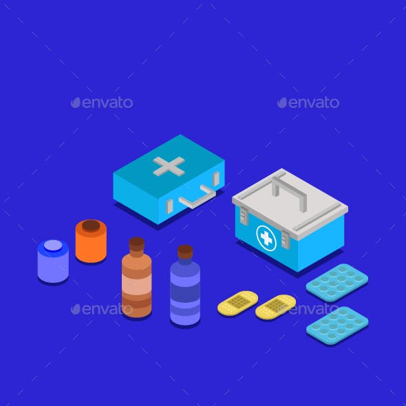 Isometric Medical Table