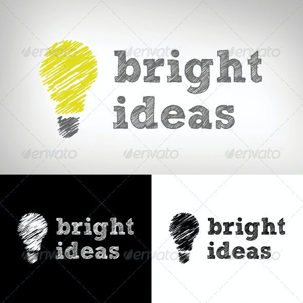Bright Ideas Logo Design